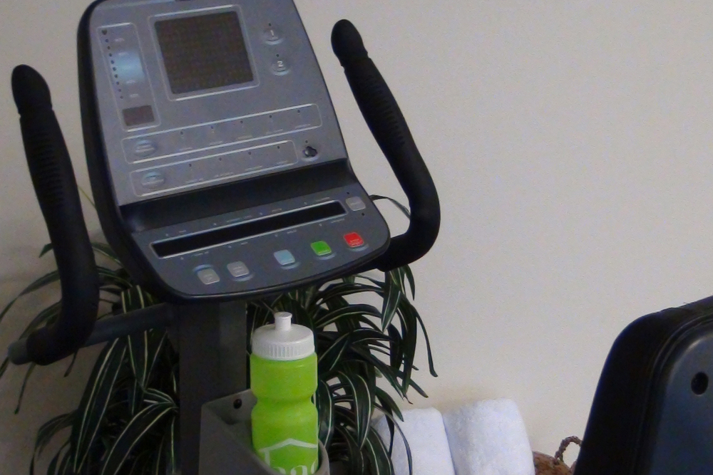 Fitness room available for residents at apartments in Seattle