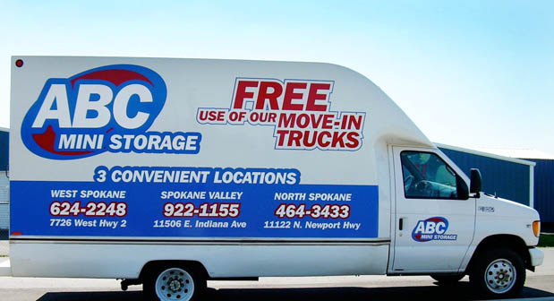 Free truck ABC Mini Storage