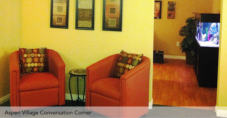 Lvt conversation corner captioned