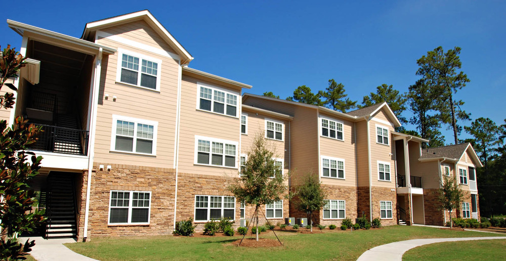 Apartments in Pooler building exterior