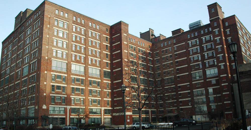 Exterior of apartments in Cleveland