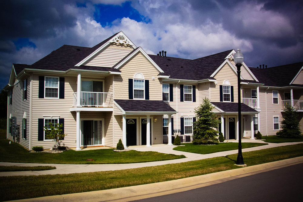 Apartment homes in Lansing MI are beautifully landscaped