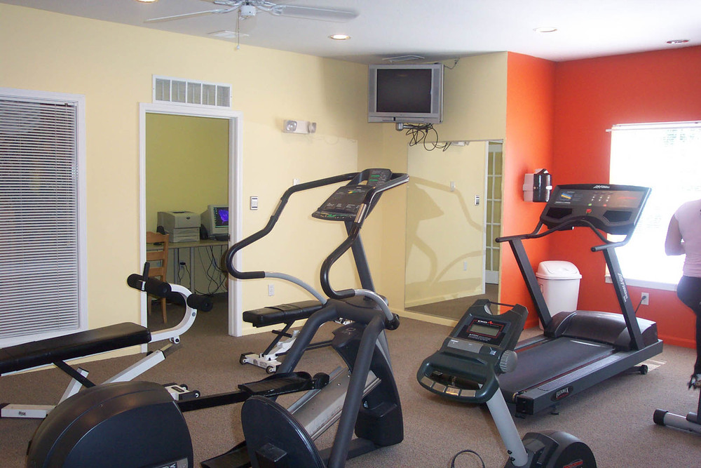 Lansing apartments have a fitness center
