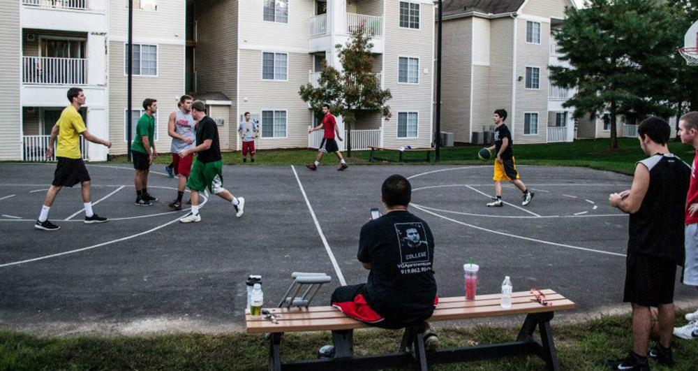Village green basketball