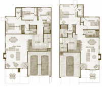 Lucera and Verona Floorplans