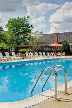 Amenities at Lakehaven Apartments in Carol Stream are top of the line.