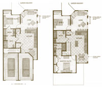 The Villas Floor plans