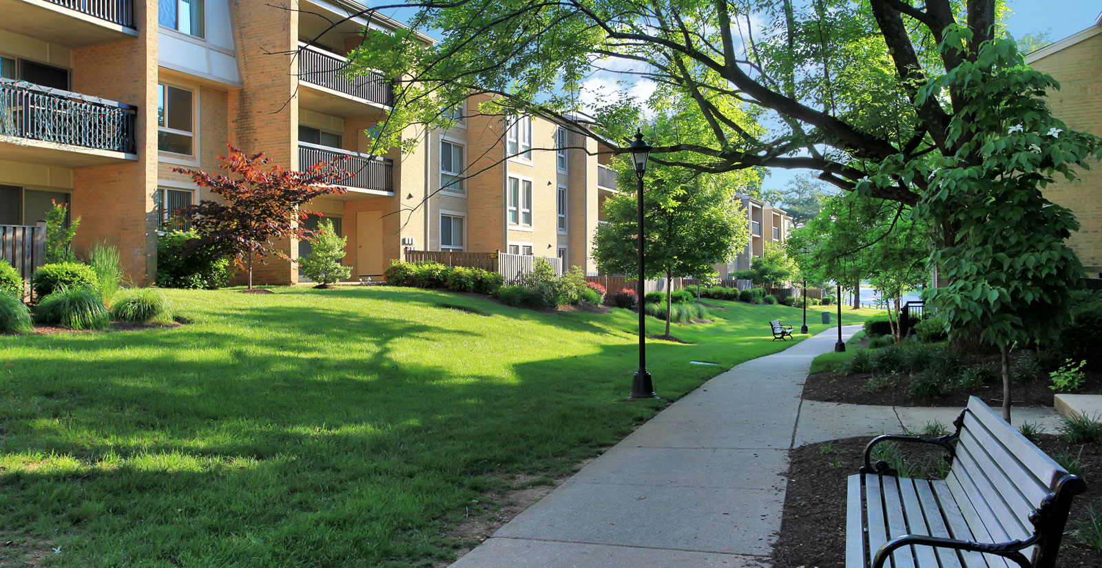 Serene, luxury apartments in Gaithersburg