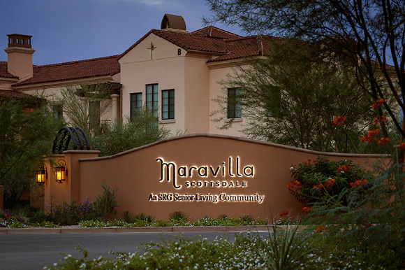 Maravilla scottsdale sign