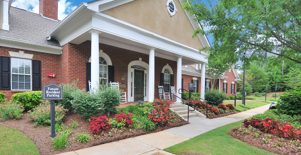 Leasing center at Kennesaw apartments