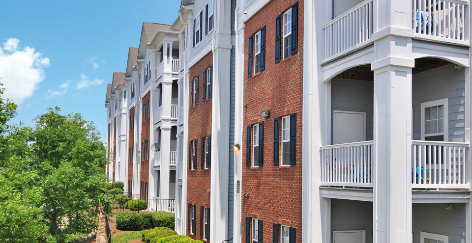 Buford apartments exterior