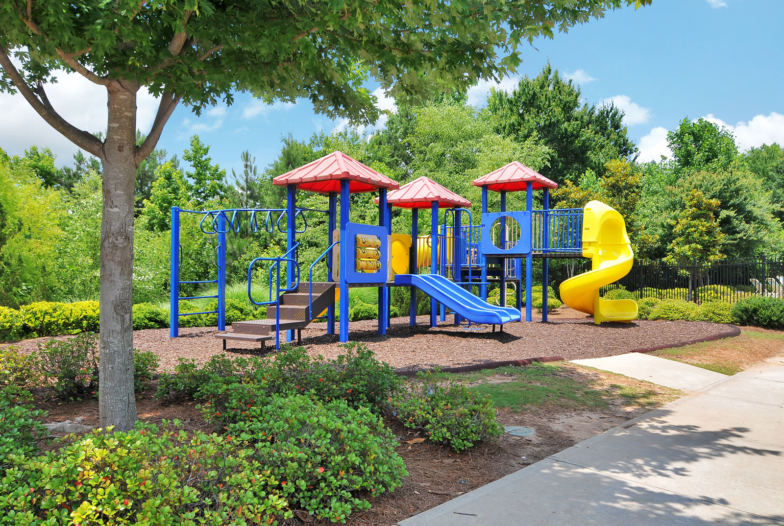 Apartments in Buford with a playground