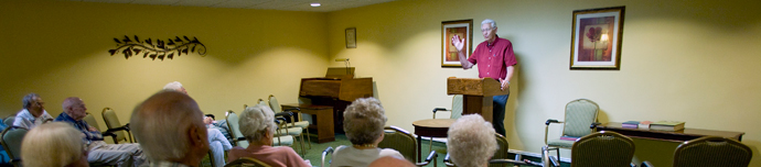 Resident activities at senior living in Winston-Salem