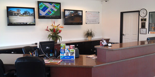 Front desk at sparkys self storage