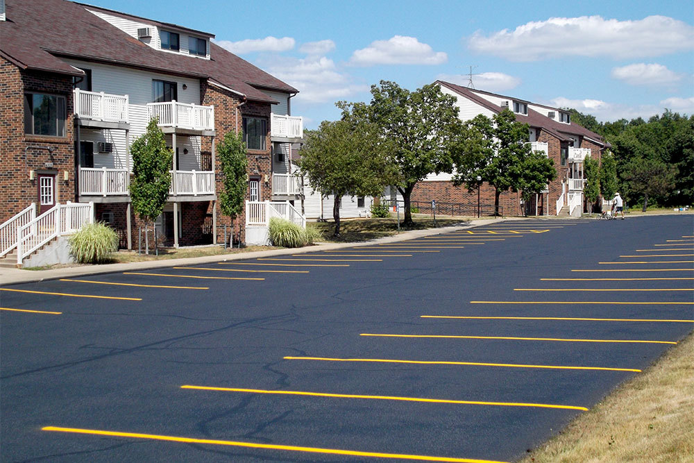 Ample parking at apartments in Kentwood