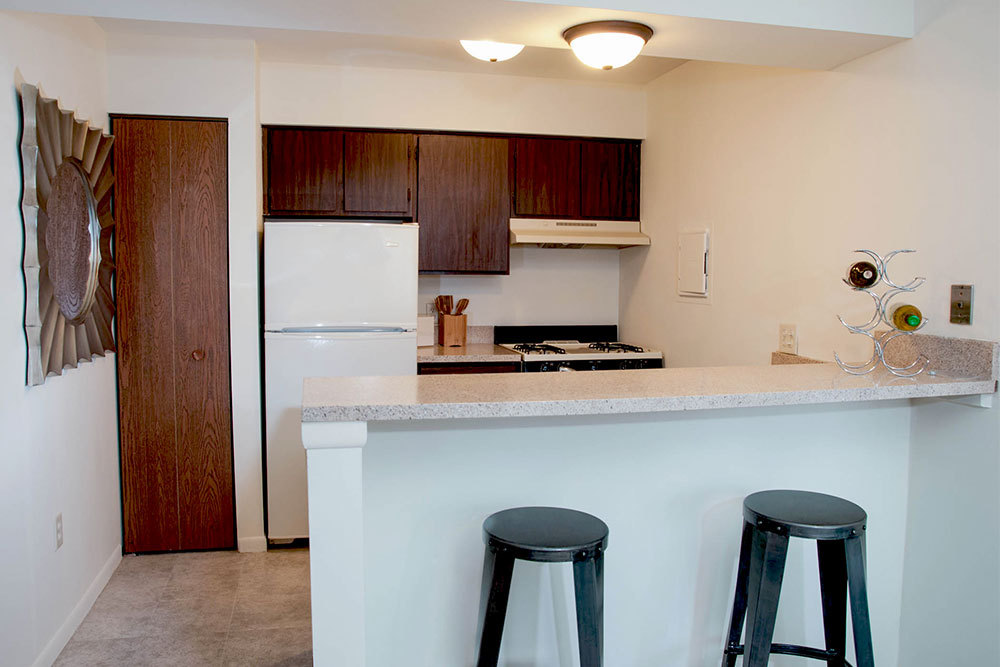 Open floorplans are available at apartments in Kentwood