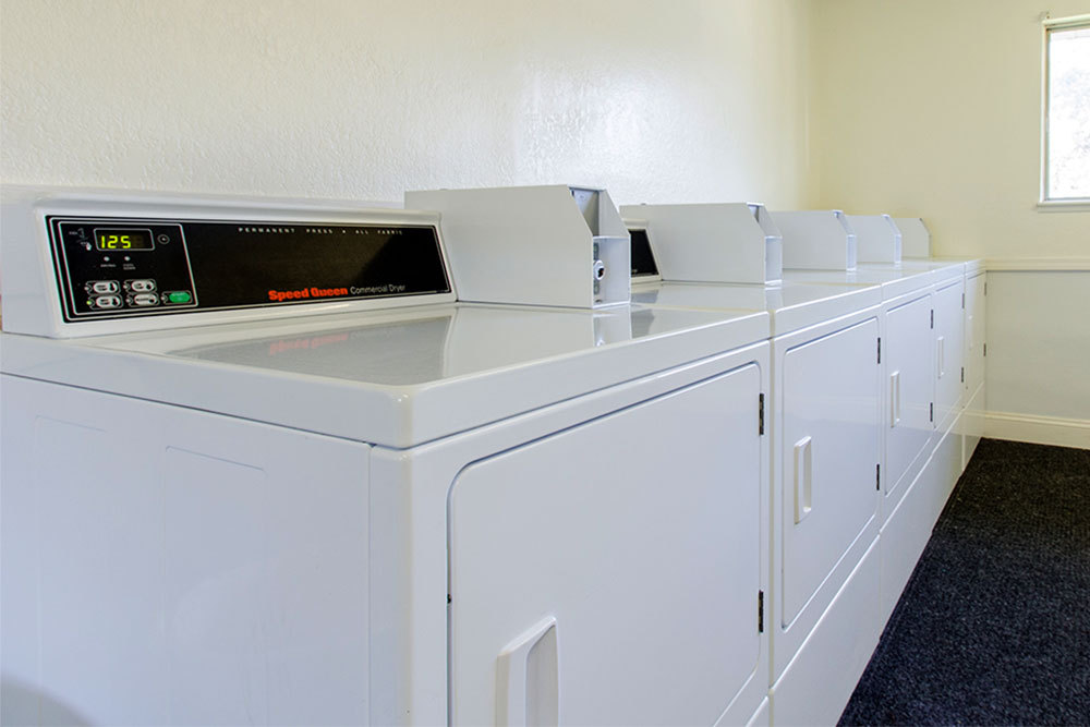 On site laundry at apartments in Kentwood