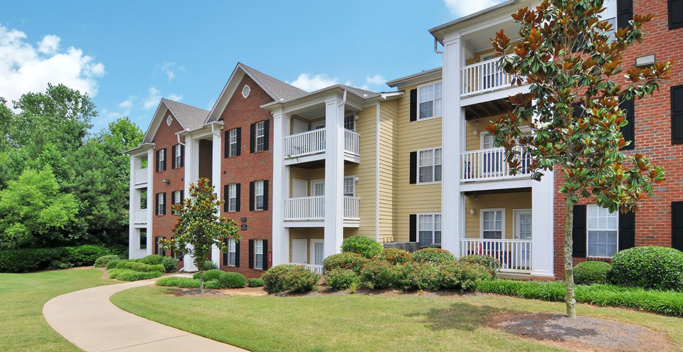 Lawrenceville apartments is a Landscaped community