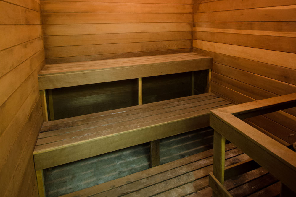 Kentwood apartments sauna