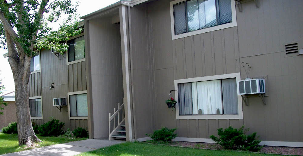 Exerior apartments in canon city