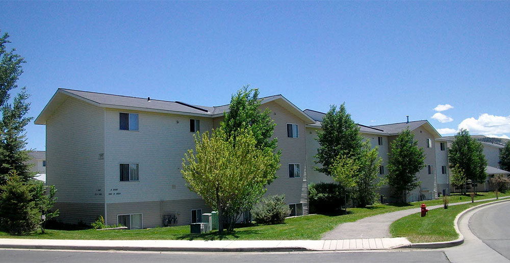 Green trees at gunnison apartments