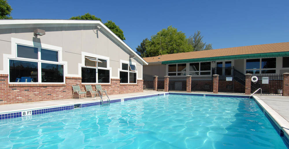 Take a dip in the fort collins apartments swimming pool
