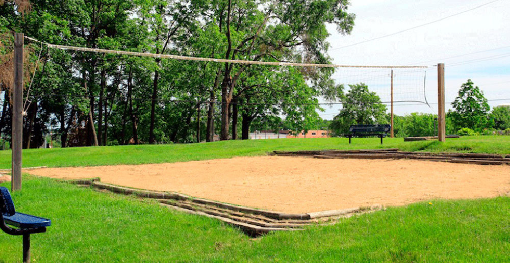 Eagles point volleyball court