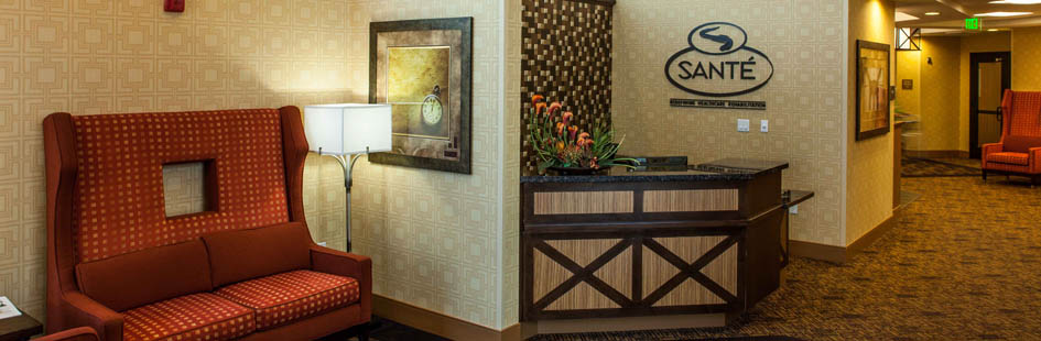 Warm furnishings at senior living in Scottsdale