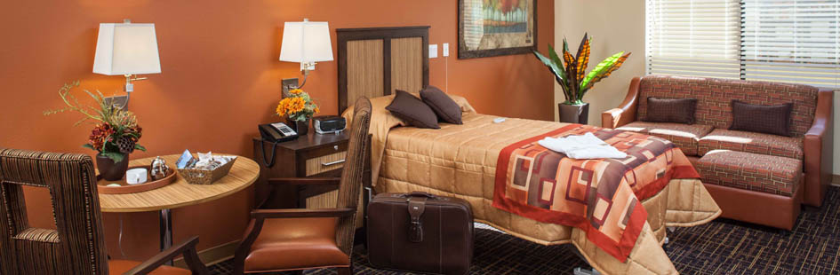 Large rooms at senior living in Scottsdale