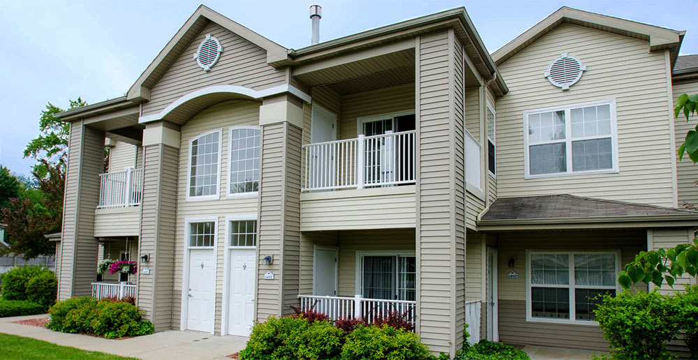 Exterior apartments in norton shores