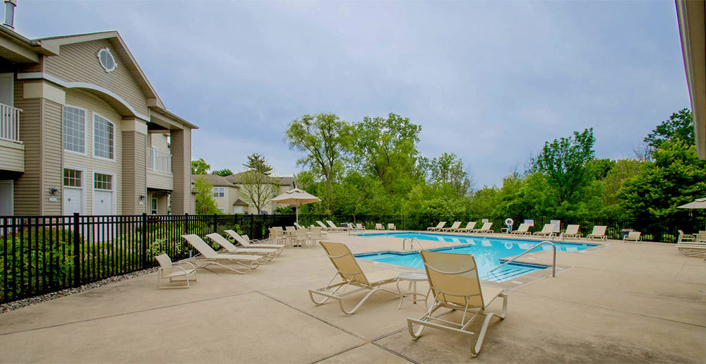 Norton shores apartments swimming pool