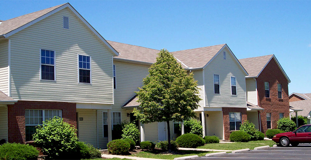 Townhomes in columbus exterior