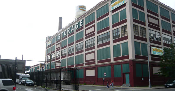 Brooklyn self storage building exterior