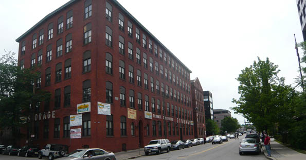 Paterson self storage building exterior