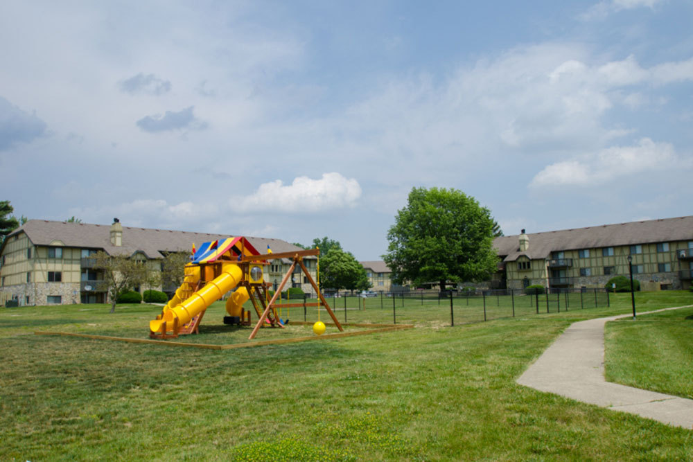 Playarea at apartments in dayton