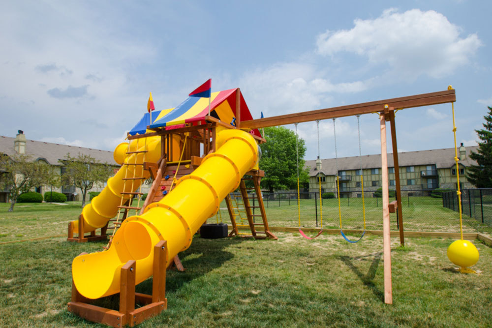 Playground at apartments in dayton