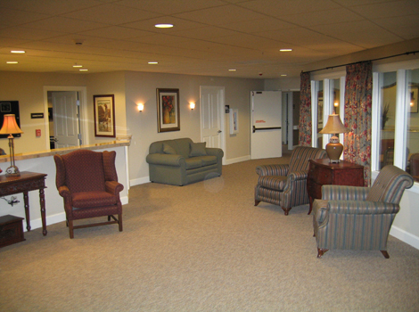 Grand Junction assisted living has a Welcoming lobby