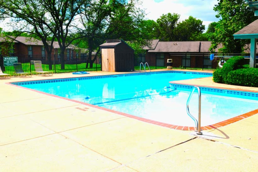 Ferguson MO Apartments include a refreshing swimming pool