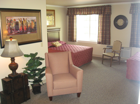 Spacious design of Katy assisted living TX