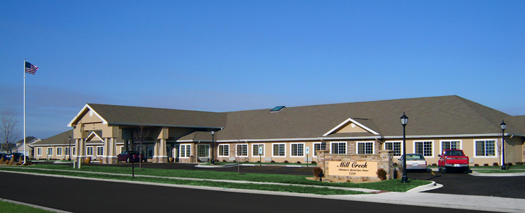 Springfield assisted living has a Beautiful exterior