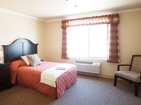 Large rooms at Albuquerque assisted living NM
