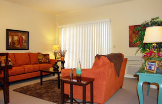 Living room anaheim senior re