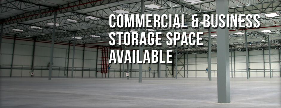 Commercial and business storage available
