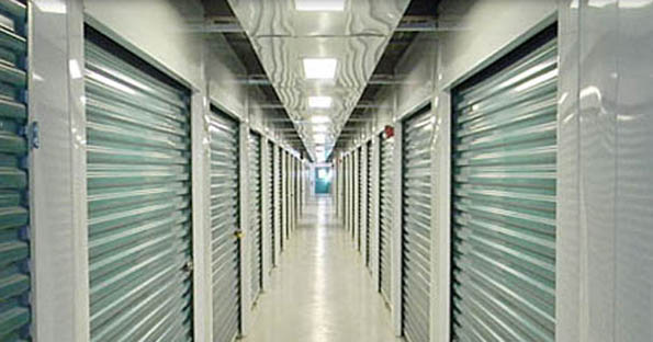 Self storage in Queens interior