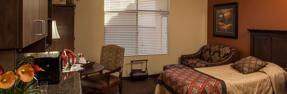 Large rooms at Surprise assisted living