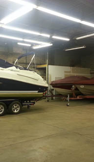 Boat storage in Michigan City
