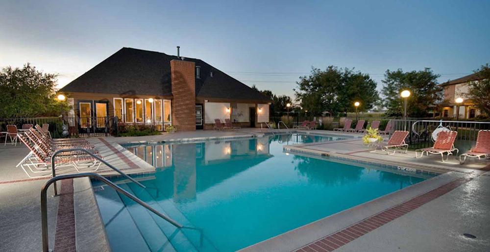 Aurora apartments has a Luxurious pool