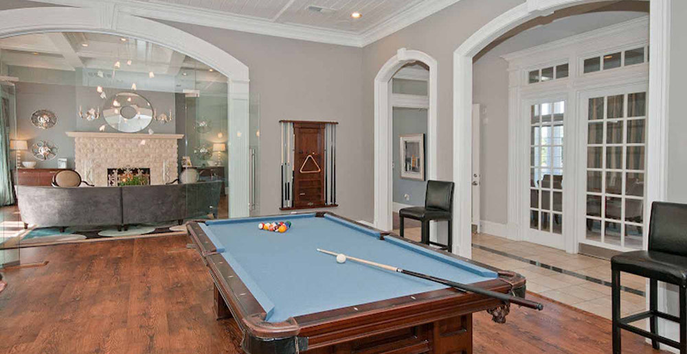 Game room at Atlanta apartments