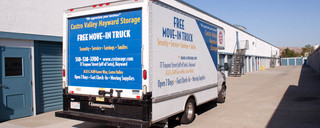 Hayward self storage moving trucks
