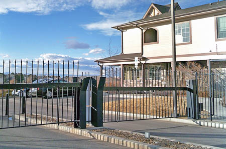 Aurora co gated self storage
